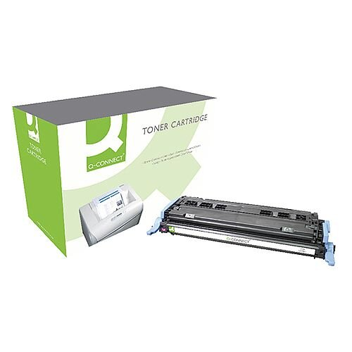 HP 124A Compatible Magenta LaserJet Toner Cartridge Q6003A Q-Connect
