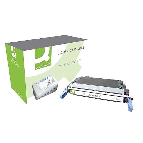 HP 644A Compatible Magenta Laser Toner Cartridge Q6463A Q-Connect
