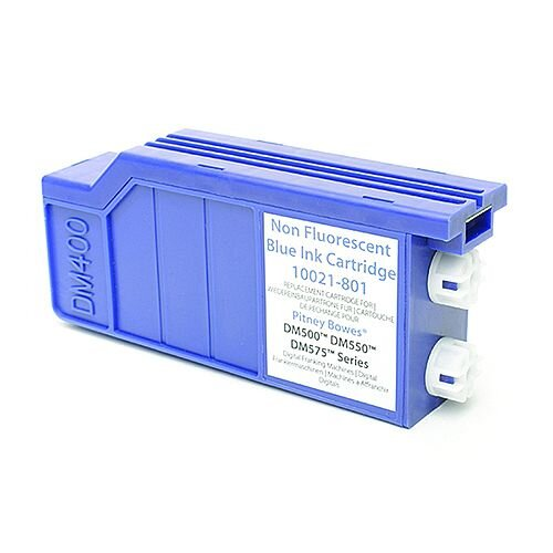 Q-Connect Pitney Bowes Remanufactured Blue Franking Ink Cartridge 620-1RN