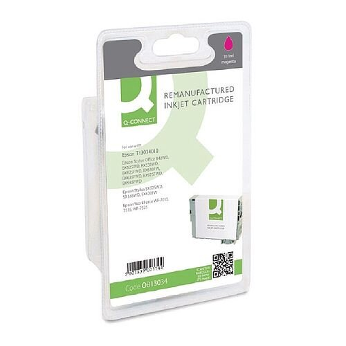 Epson T1303 Compatible Magenta Stag Series Inkjet Cartridge C13T13034010 / T130340 Q-Connect