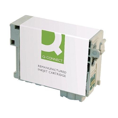 Epson 27XL Compatible Yellow Alarm Clock Inkjet Cartridge C13T271440 Q-Connect
