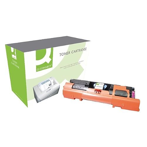 HP 122A Compatible Magenta Laser Toner Cartridge Q3963A Q-Connect