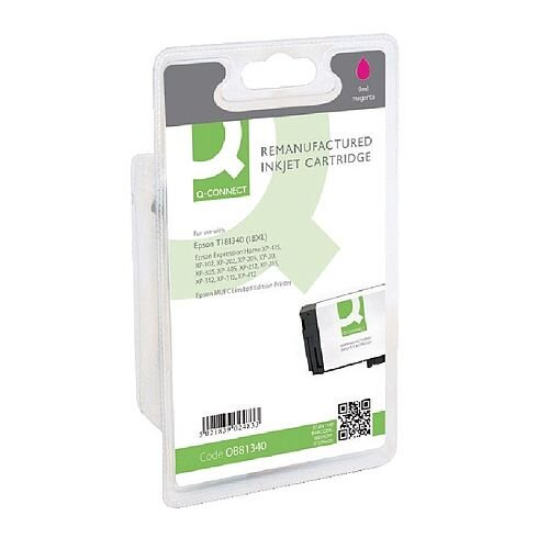 Epson 18XL Compatible Magenta High Capacity Daisy Series Ink Cartridge T181340 Q-Connect