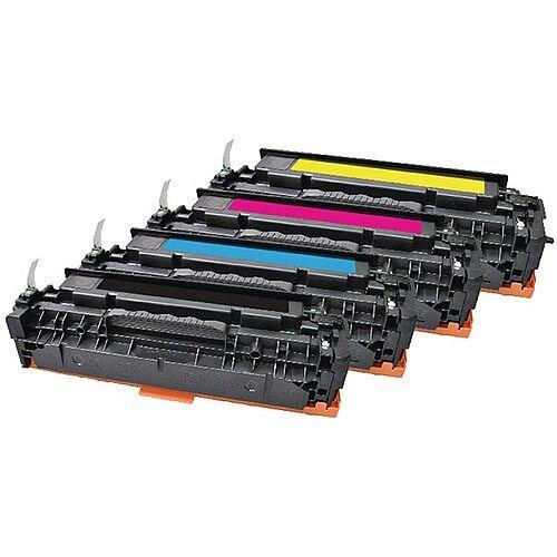 HP 304A Compatible 4-Colour Toner Cartridges Q-Connect CC530A