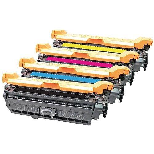 Q-Connect HP M551 LaserJet Toner Cartridge CMYK Pack of 4 CE400X/01A/02A/03A-COMP