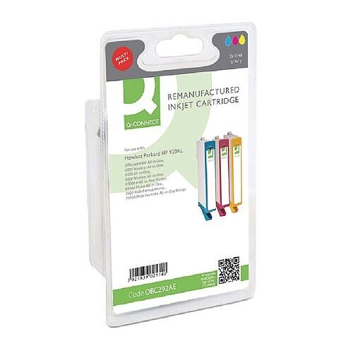 HP 920XL Compatible Tri-Colour High Capacity Inkjet Cartridges Value Pack C2N92AE Q-Connect