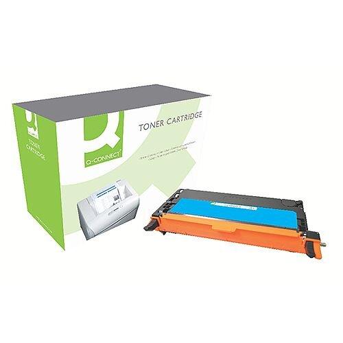 Samsung C406S Compatible Cyan Toner Cartridge CLT-C406S/ELS Q-Connect