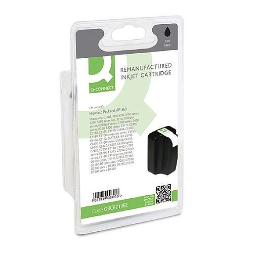 HP 363XL Compatible Black High Capacity Inkjet Cartridge C8719EE Q-Connect