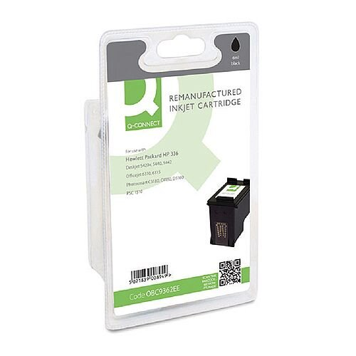 HP 336 Compatible Black Ink Cartridge Black C9362EE Q-Connect