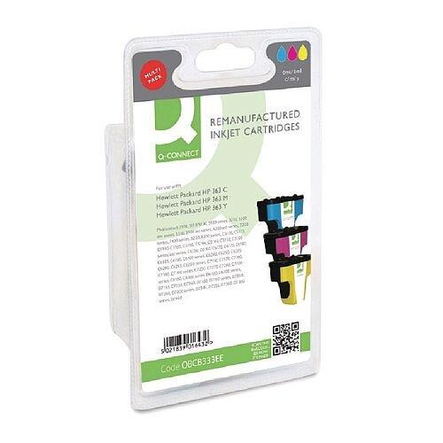 HP No 363 Compatible Tri-Colour Inkjet Cartridge CB333EE Q-Connect