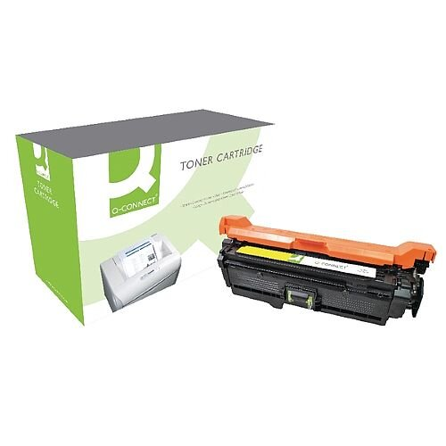 HP 504A Compatible Yellow Laser Toner Cartridge CE252A Q-Connect