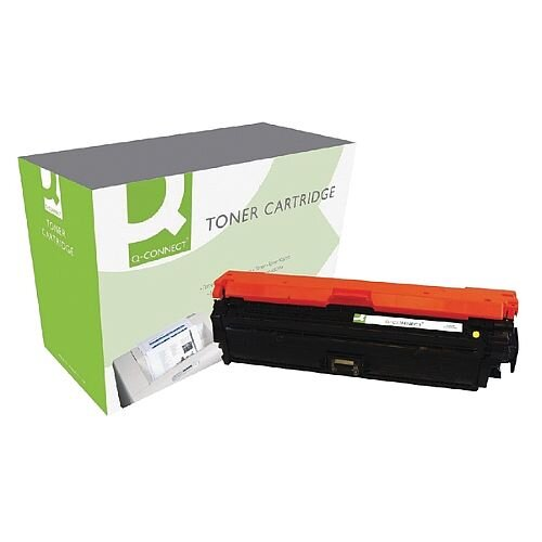 HP 650A Compatible Yellow Laser Toner Cartridge CE272A Q-Connect