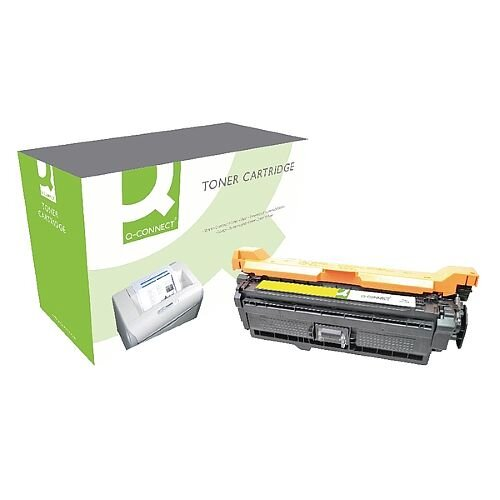 HP 507A Compatible Yellow Laser Toner Cartridge CE402A Q-Connect