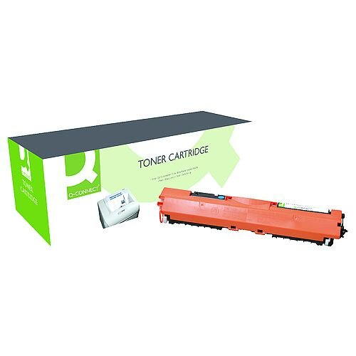 Q-Connect HP 130A Toner Cartridge CF351A Cyan CF351A-COMP