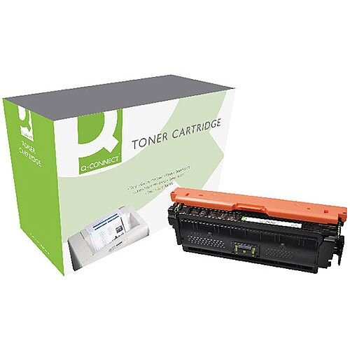HP 508X Compatible Yellow Toner Cartridge Q-Connect CF362X