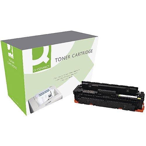 Q-Connect HP CF412X M452 Laser Toner Cartridge High Yield Yellow CF412X-COMP