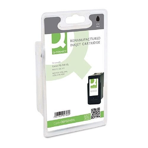 Canon PG-540XL Compatible Black High Yield Ink Cartridge Q-Connect