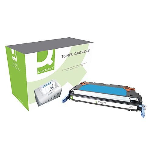 HP 502A Cyan Compatible Laser Toner Cartridge Q6471A Q-Connect