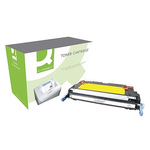 HP 502A Yellow Compatible Laser Toner Cartridge Q6472A Q-Connect