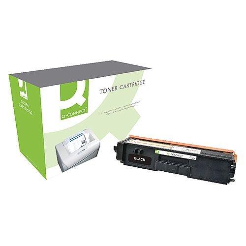 Brother TN320BK Compatible Black Toner Cartridge Q-Connect