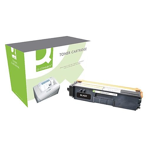 Brother TN-325BK Compatible Black High Capacity Toner Cartridge TN325BK Q-Connect
