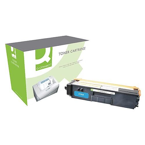 Brother TN-325C Compatible Cyan High Capacity Toner Cartridge TN325C Q-Connect