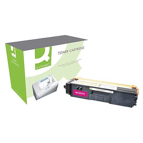 Brother TN-325M Compatible Magenta High Capacity  Toner Cartridge TN325M Q-Connect