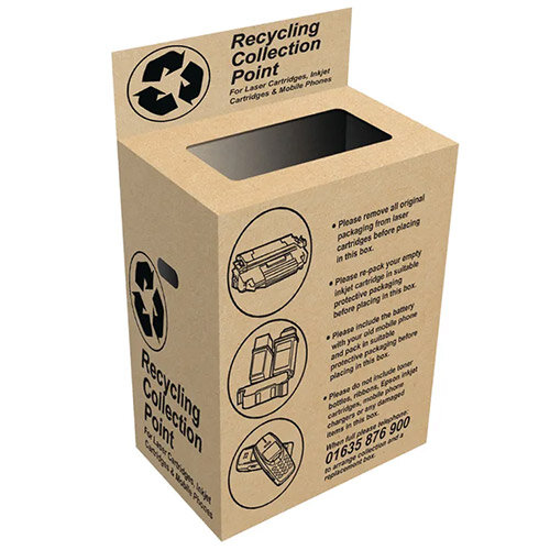 FREE - Toner &Ink Cartridge Recycling Bin OBVOWBOX Pack of 1