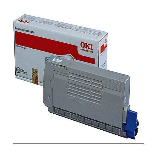 OKI 45396303 Cyan Standard Capacity Toner Cartridge