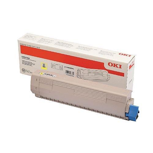 OKI 46443101 Yellow High Capacity Toner Cartridge