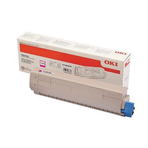 OKI 46443102 Magenta High Capacity Toner Cartridge