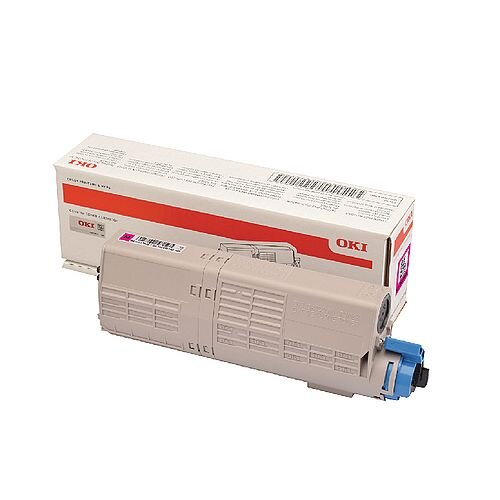 OKI 46490606 Magenta High Capacity Toner Cartridge