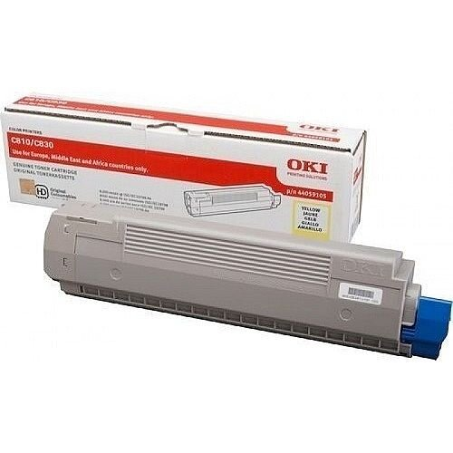 Oki 47095701 Original Yellow Toner Cartridge