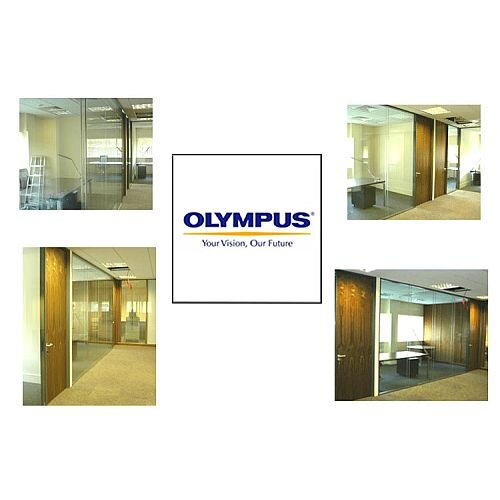 Olympus Biotech Research Company in Limerick University Supply & installation of partition wall system by HuntOffice Interiors