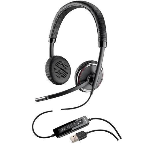 Plantronics Blackwire C520-M Overthe Head Binaural Stereo Headset