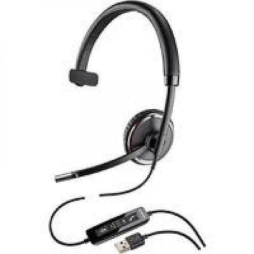 Plantronics Blackwire C510 Over Head Single Headphone and Microphone