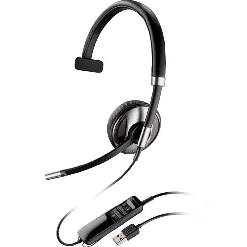 Plantronics BLACKWIRE C710-M Over-the-Head Single Headphone and Microphone