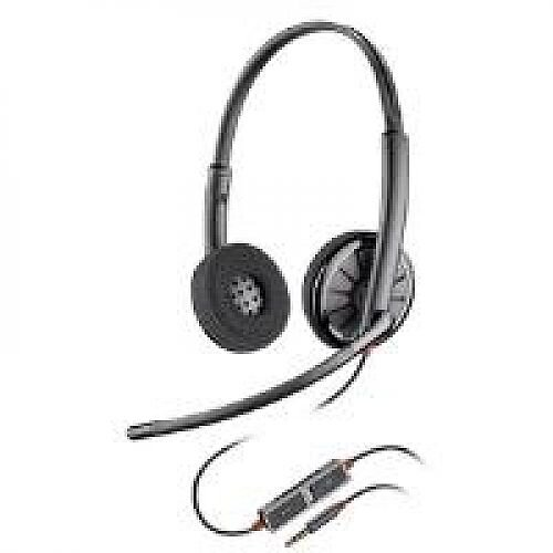 Plantronics Blackwire C225 Stereo Headset Black