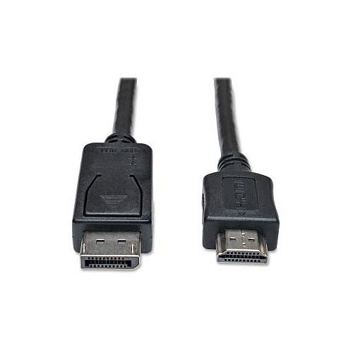 Tripp Lite DisplayPort/HDMI A/V Cable for Audio/Video Device Monitor TV 1.83 m P582-006