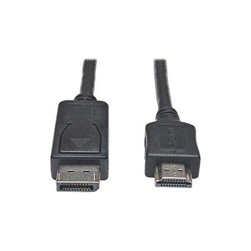 Tripp Lite P582-025 DisplayPort/HDMI A/V Cable for Audio/Video Device Graphics Card Projector Monitor TV 7.62 m