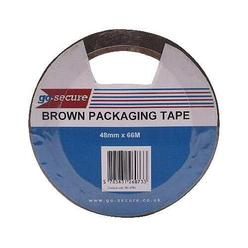 Go Secure Packaging Tape 50mmx66m Pack of 6 PB02296