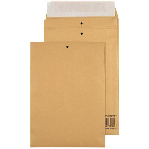 GoSecure Manilla C5 Gusset Pocket Envelope 140gsm Pack of 100 REPDC5