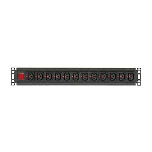 16 Way Vertical Locking IEC C13 PDU