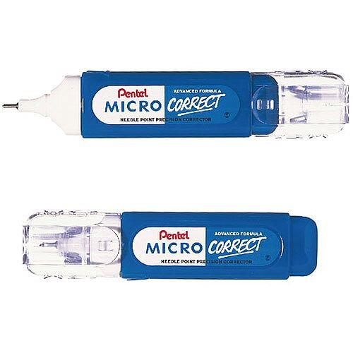 Pentel Micro Correction Pen 12ml Ref XZL31-W