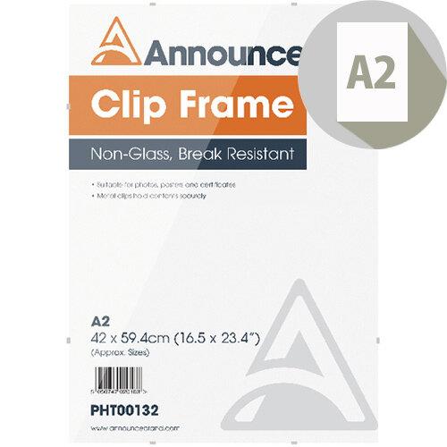 Announce A2 Clip Frame PHT00132