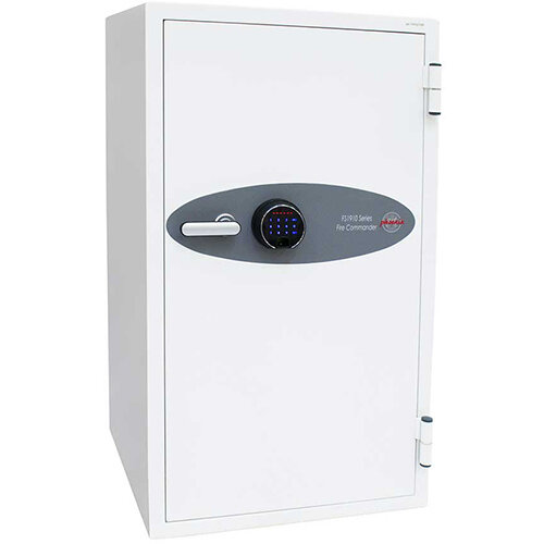 Phoenix Fire Commander FS1911F 220L Fireproof Safe With Electronic Fingerprint Lock White