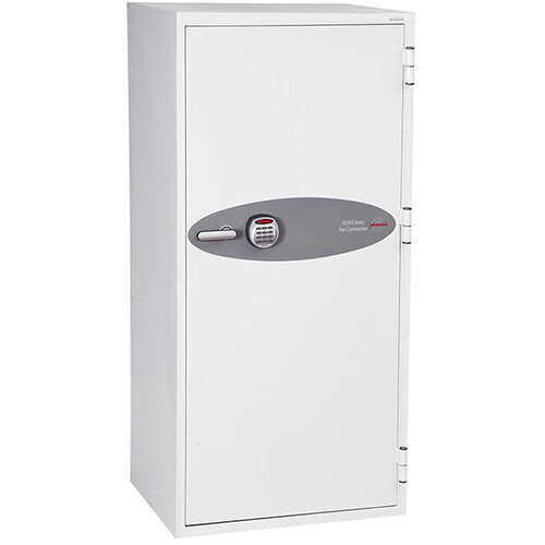 Phoenix Fire Commander FS1912E 338L Fireproof Safe With Electronic Lock White