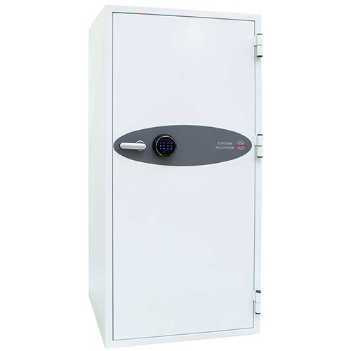 Phoenix Fire Commander FS1912F 338L Fireproof Safe With Electronic Fingerprint Lock White
