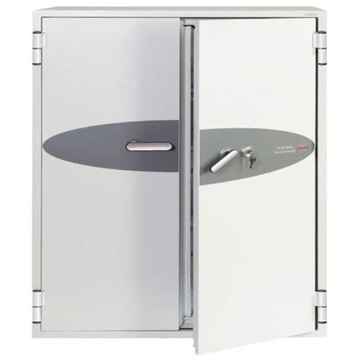 Phoenix Fire Commander FS1913K 332L Fireproof Safe With Key Lock White