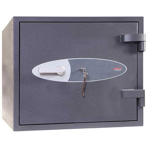 Phoenix Venus HS0652K 46L Security Safe With Key Lock Grey